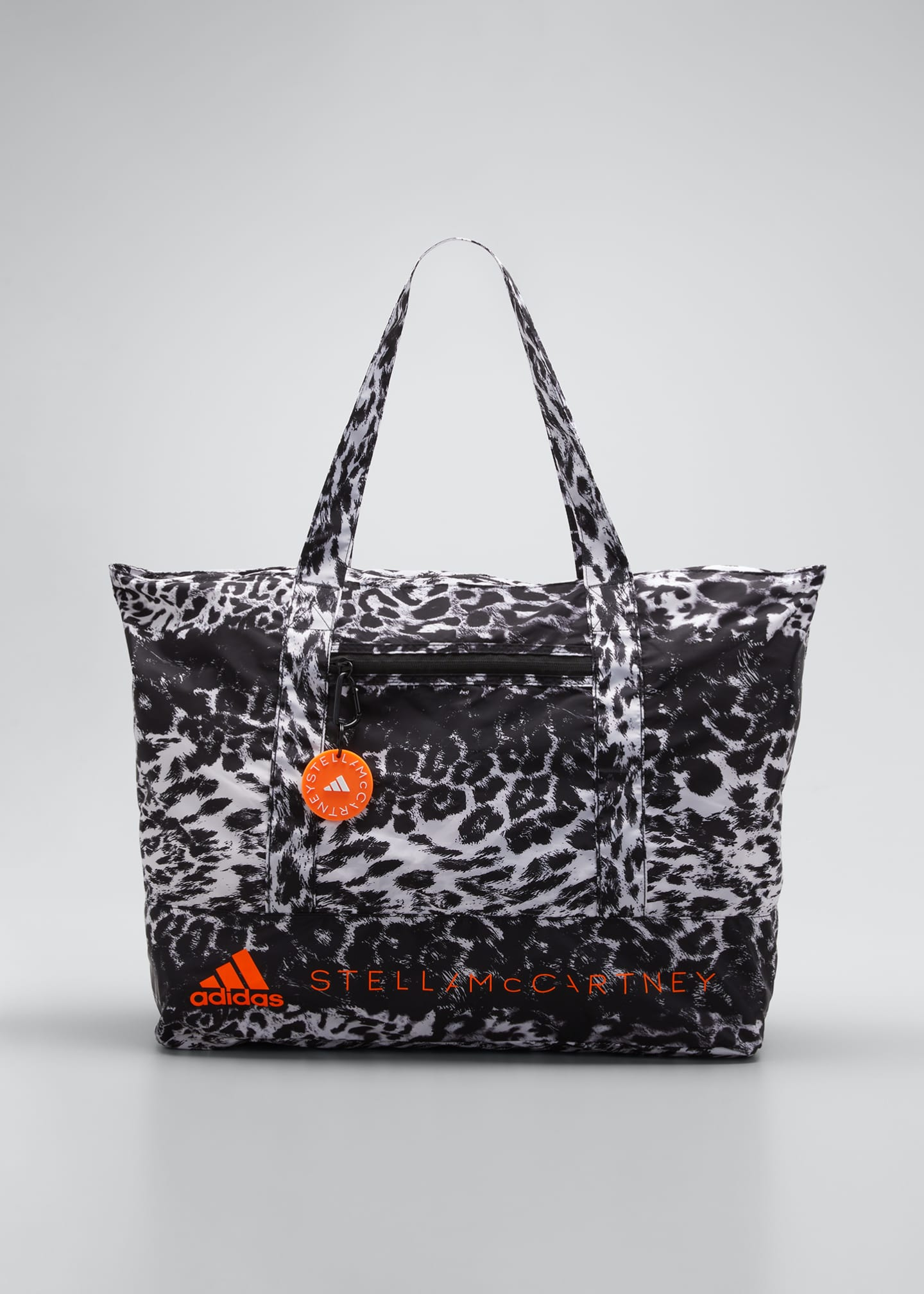 Image 1 of 5: Leopard-Print Tote Bag