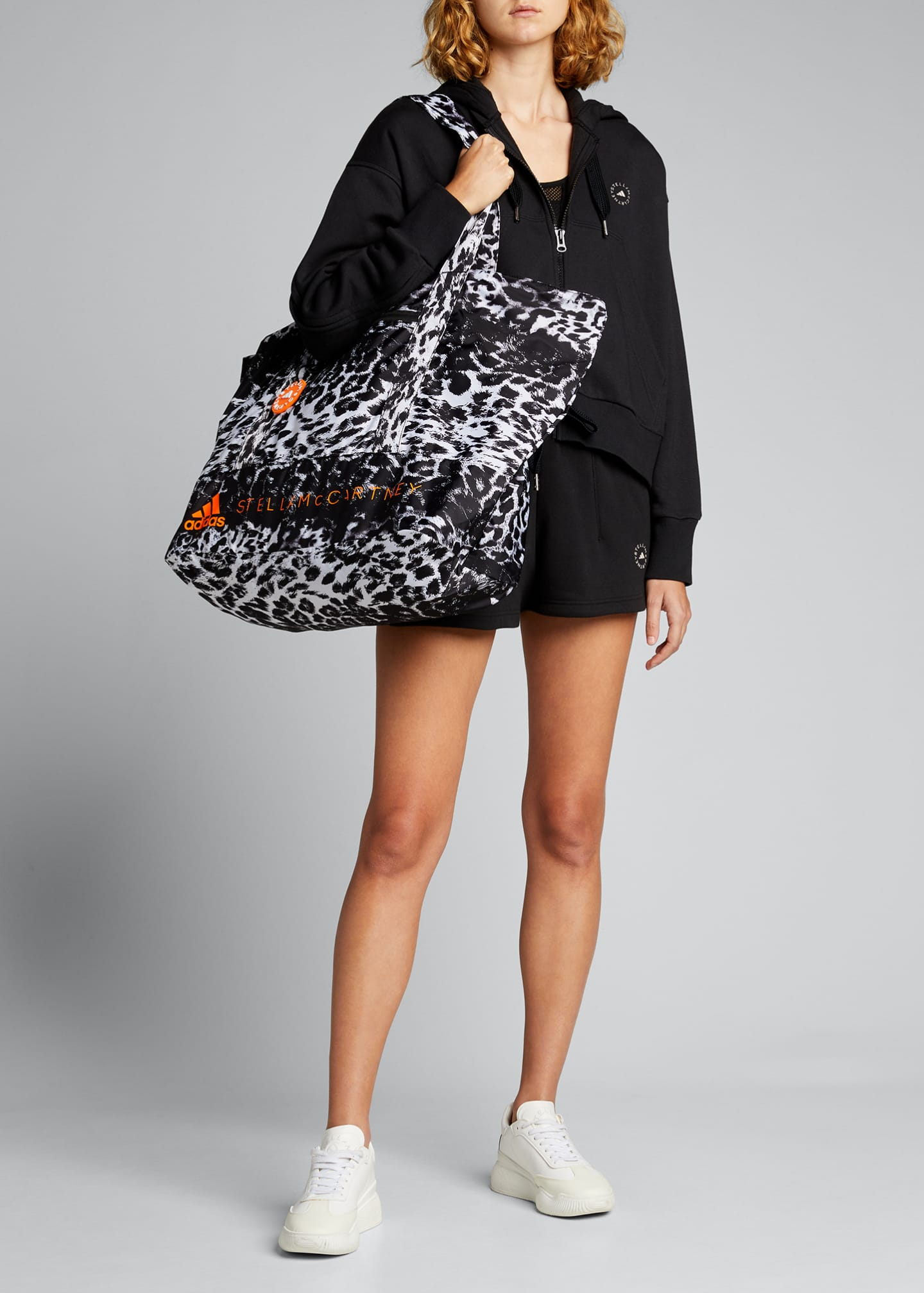 Image 5 of 5: Leopard-Print Tote Bag