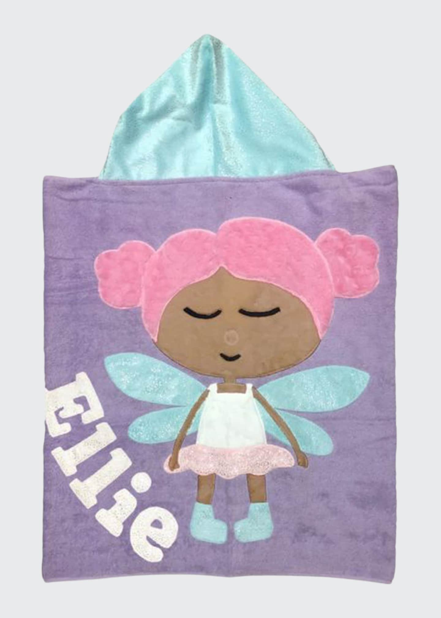 Image 1 of 1: Personalized Twinklebell Hooded Towel