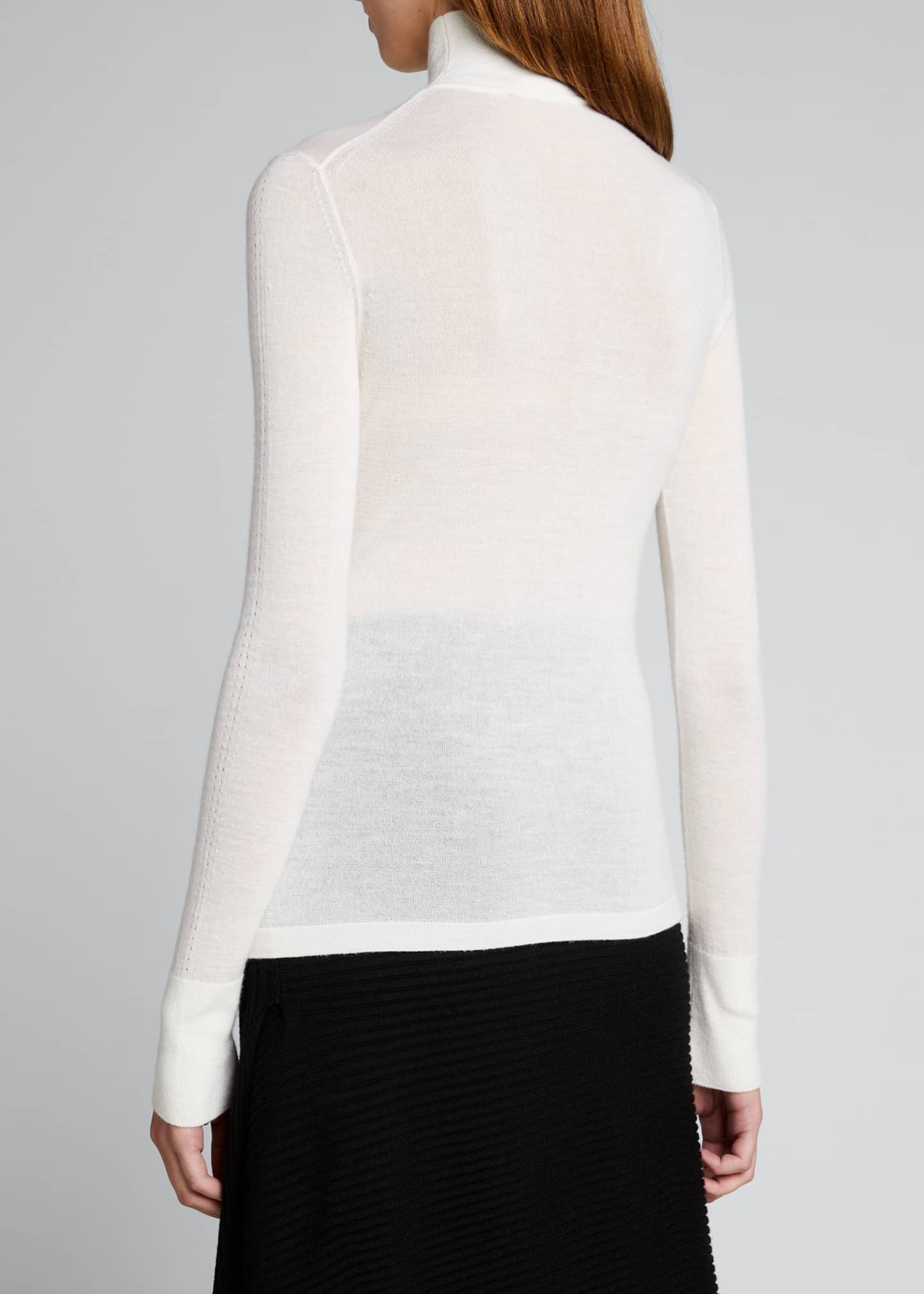 Image 2 of 5: Faith Cashmere Featherweight Sweater