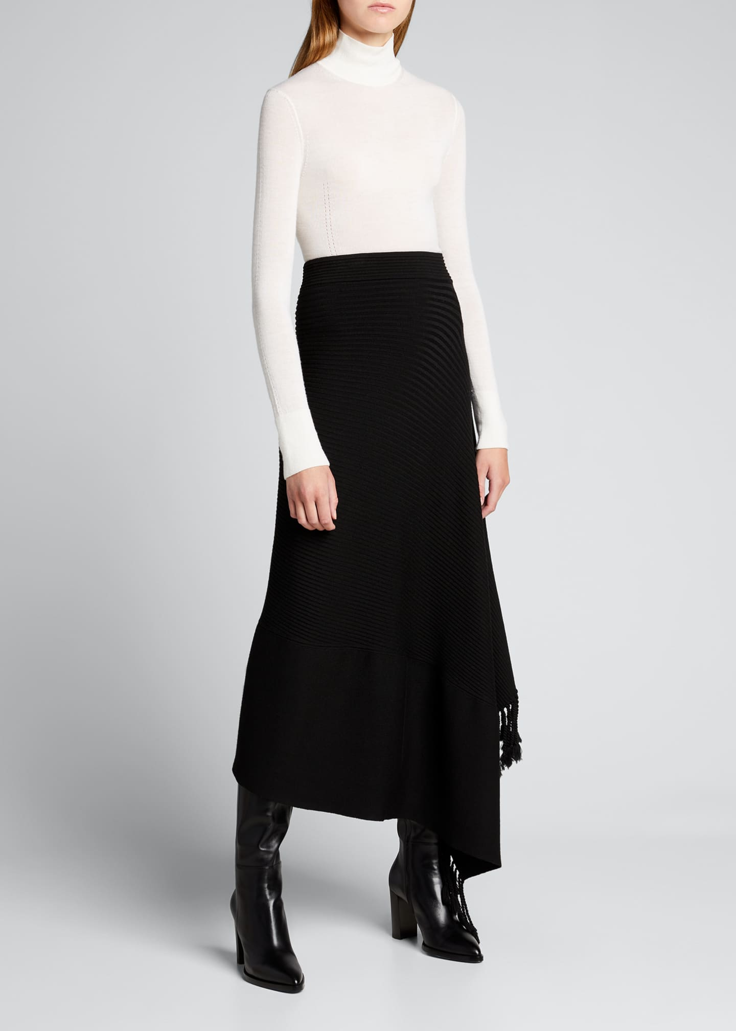 Image 1 of 5: Faith Cashmere Featherweight Sweater