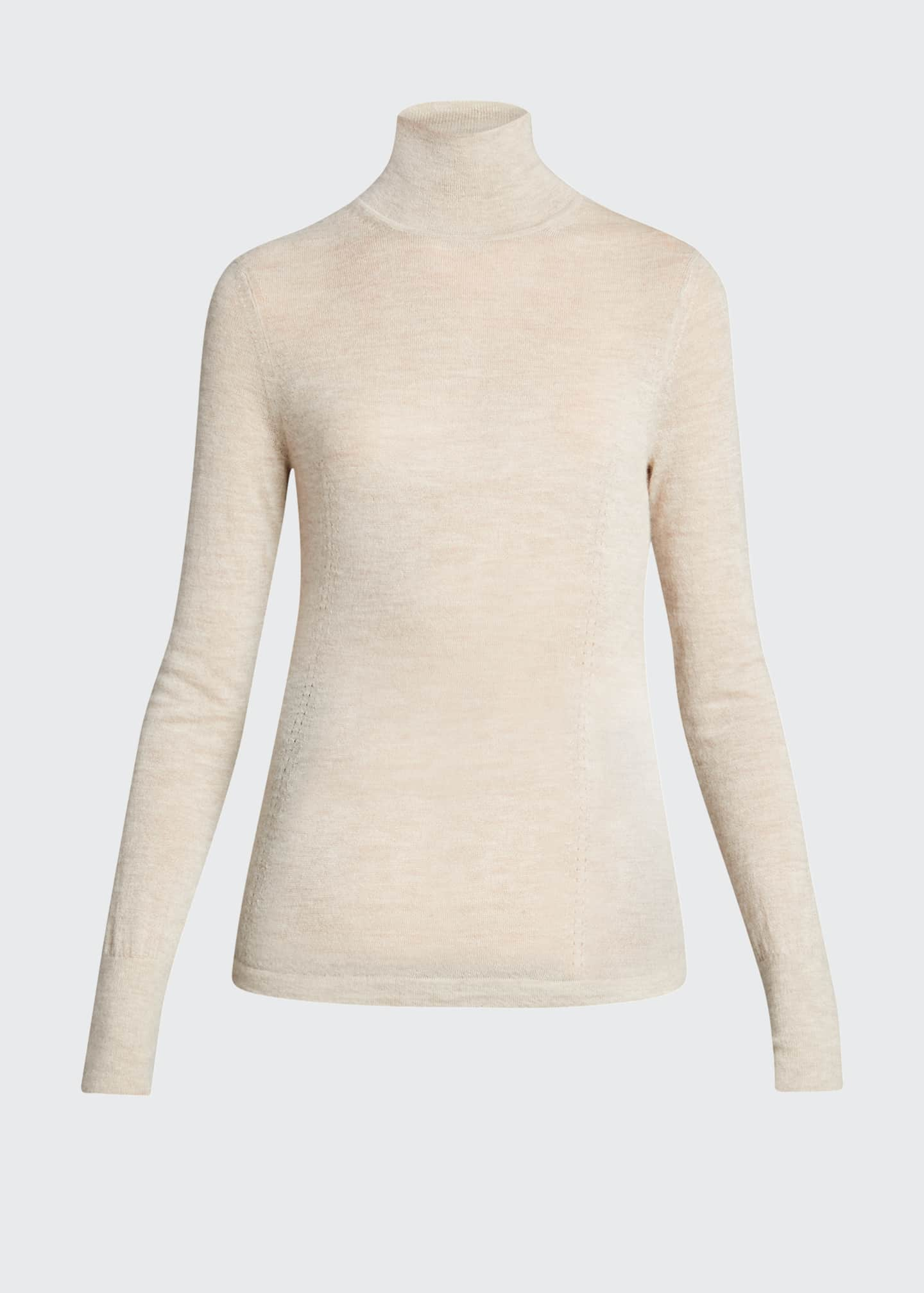 Image 5 of 5: Faith Cashmere Featherweight Sweater