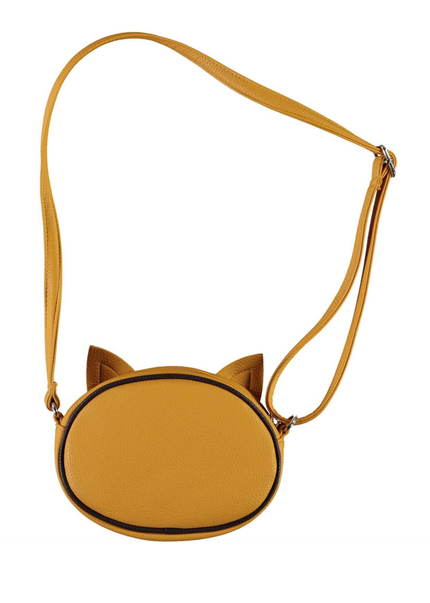 Image 3 of 3: Girl's Leopard Face Crossbody Bag
