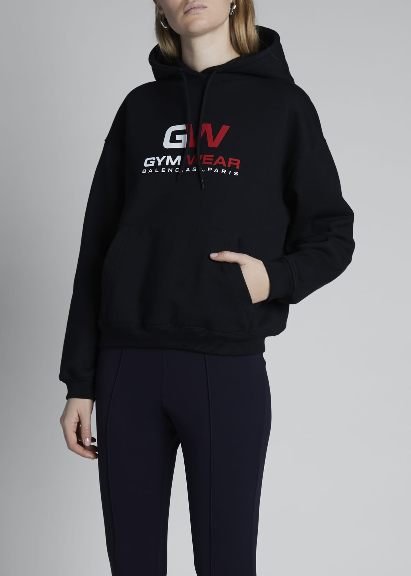 Image 3 of 4: Gym Wear Hoodie