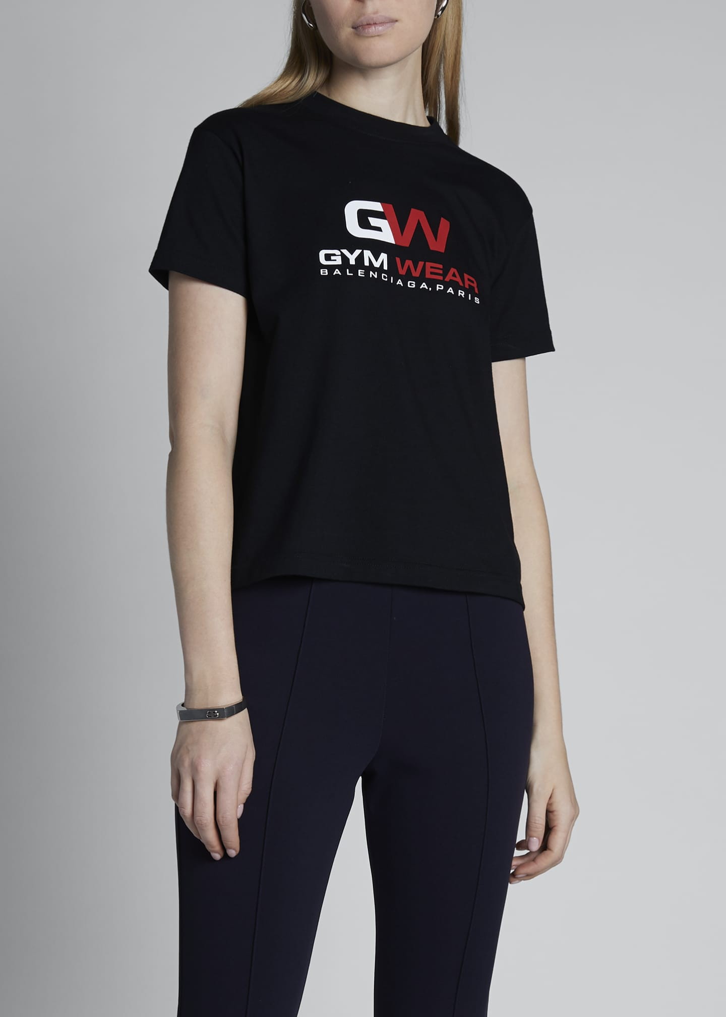 Image 3 of 4: Gym Wear Logo T-Shirt
