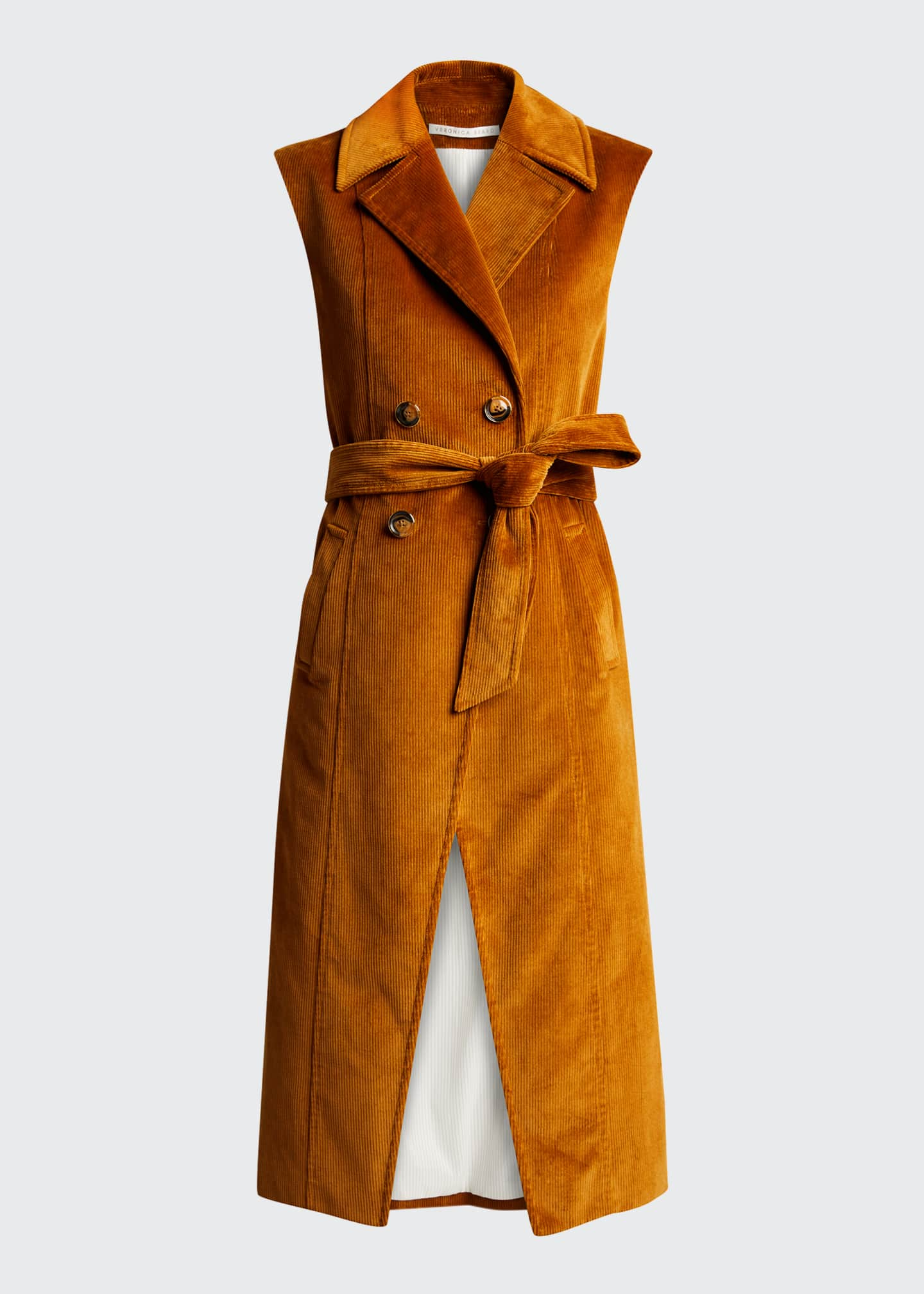 Image 5 of 5: Fayette Long Cotton Vest