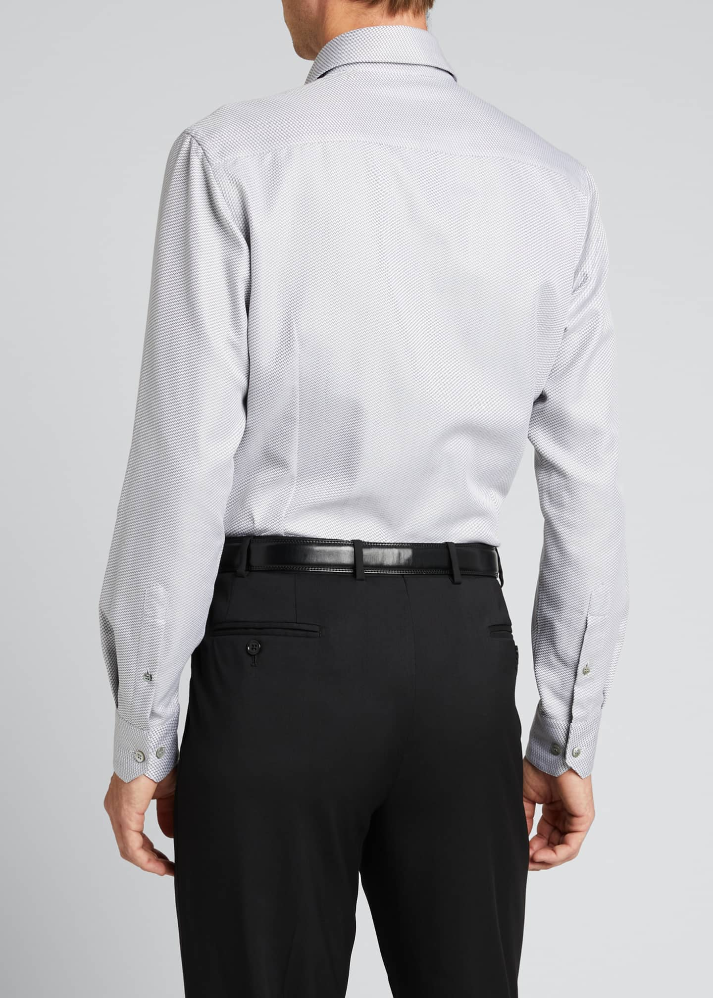 Image 2 of 5: Men's Micro-Weave Sport Shirt