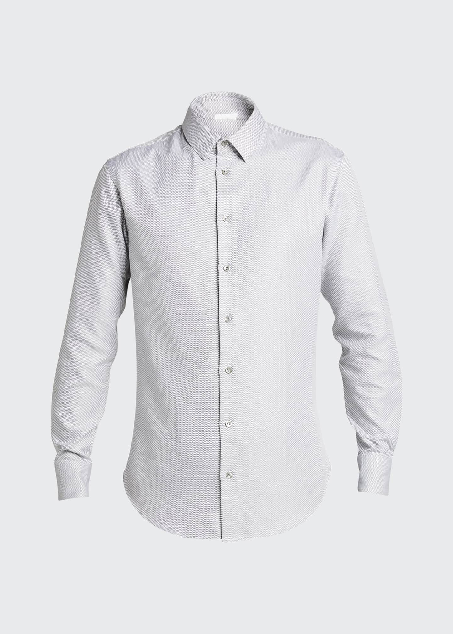 Image 5 of 5: Men's Micro-Weave Sport Shirt