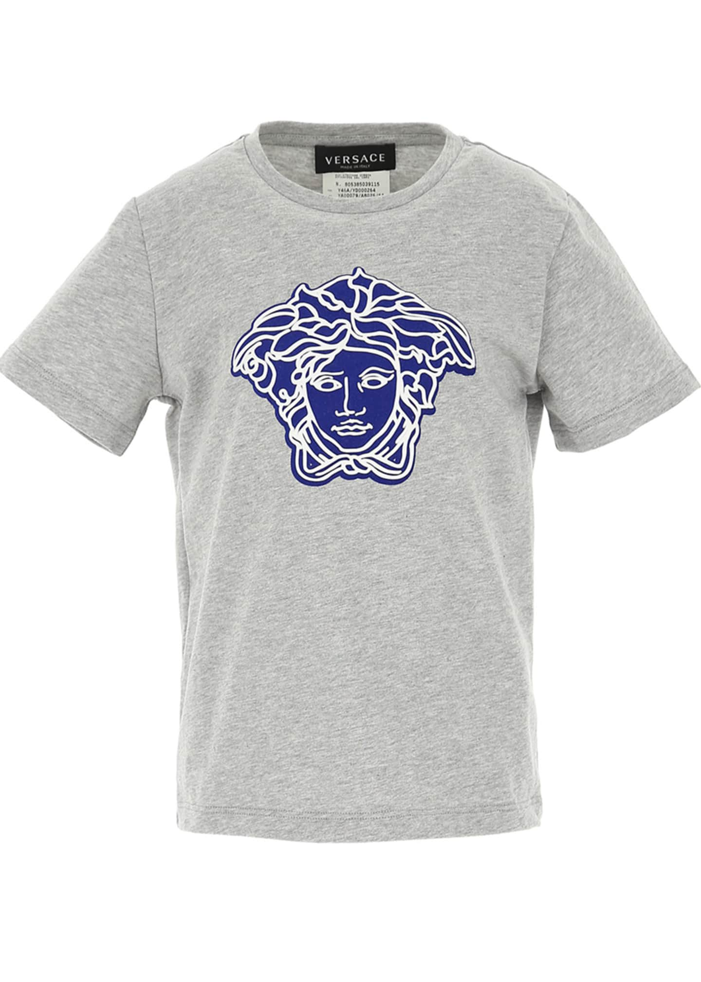 Image 1 of 1: Boys' T-Shirt with Contrast Medusa, Size 4-6