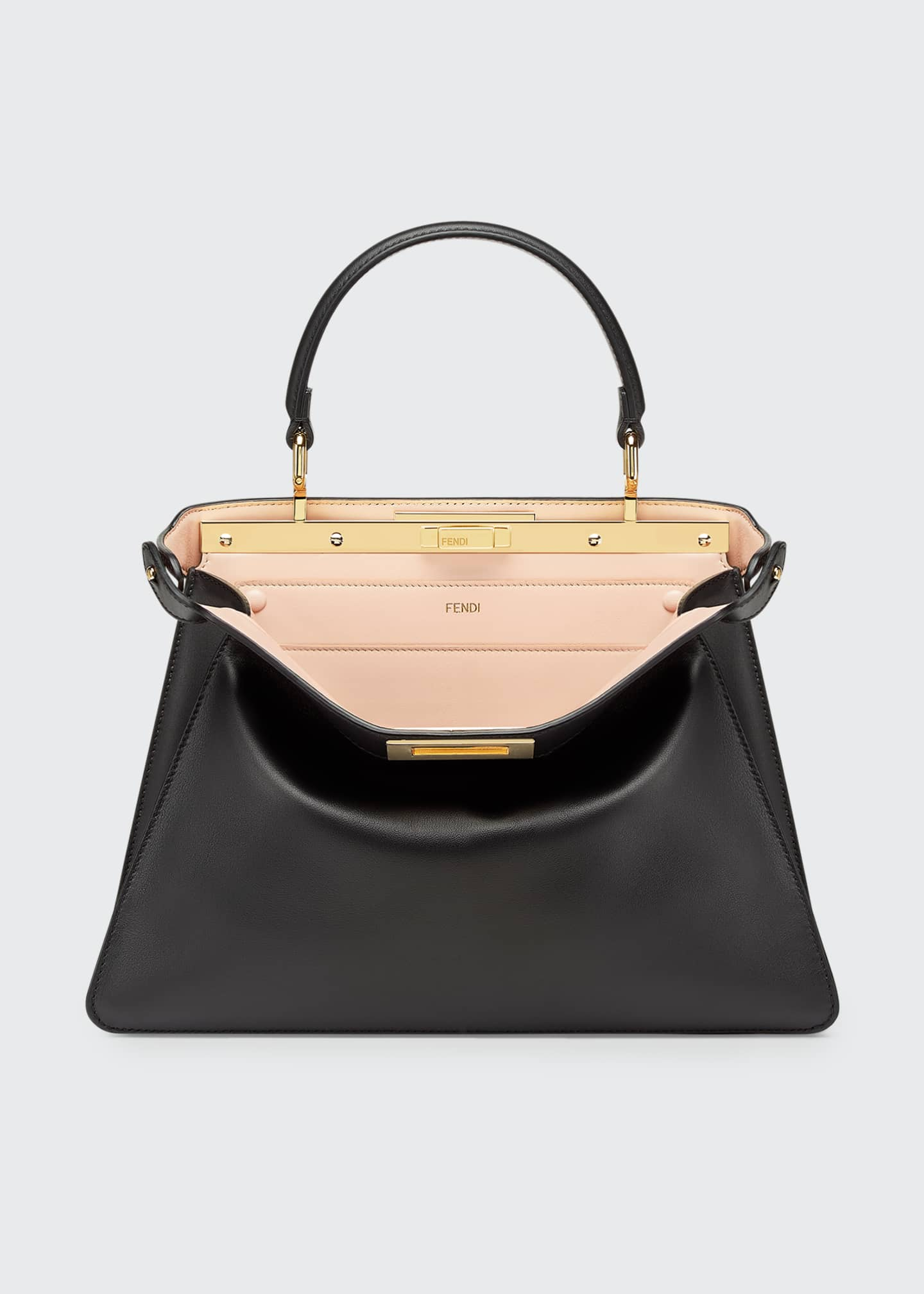 Image 1 of 4: Peekaboo ISEEU Medium Leather Bag