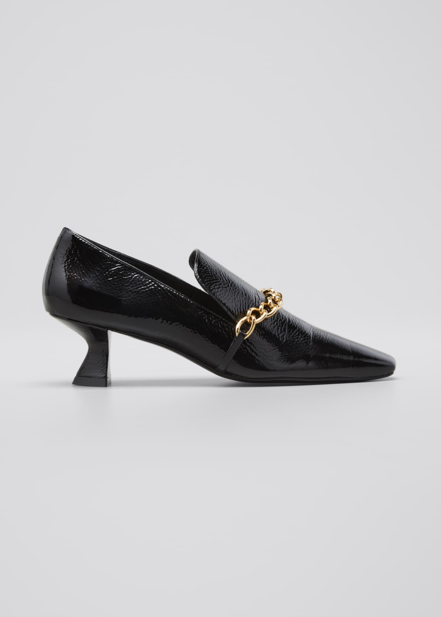 Harriet Chain Loafer Pumps