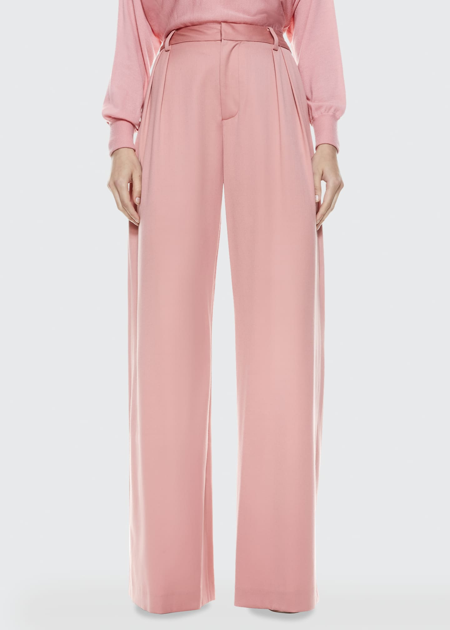 Image 1 of 3: Eric High-Waist Pleated Pants