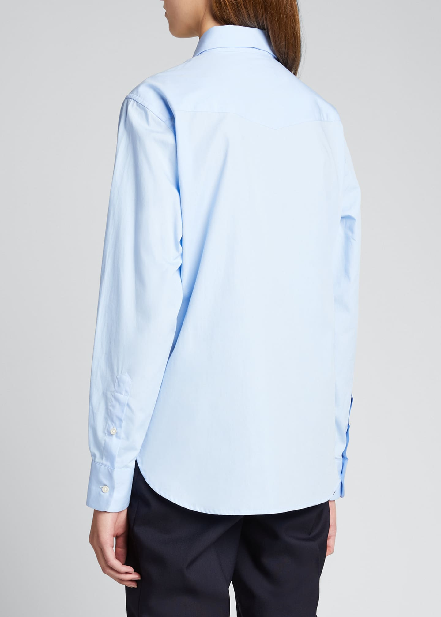 Image 2 of 5: Colombe Classic-Fit Poplin Shirt