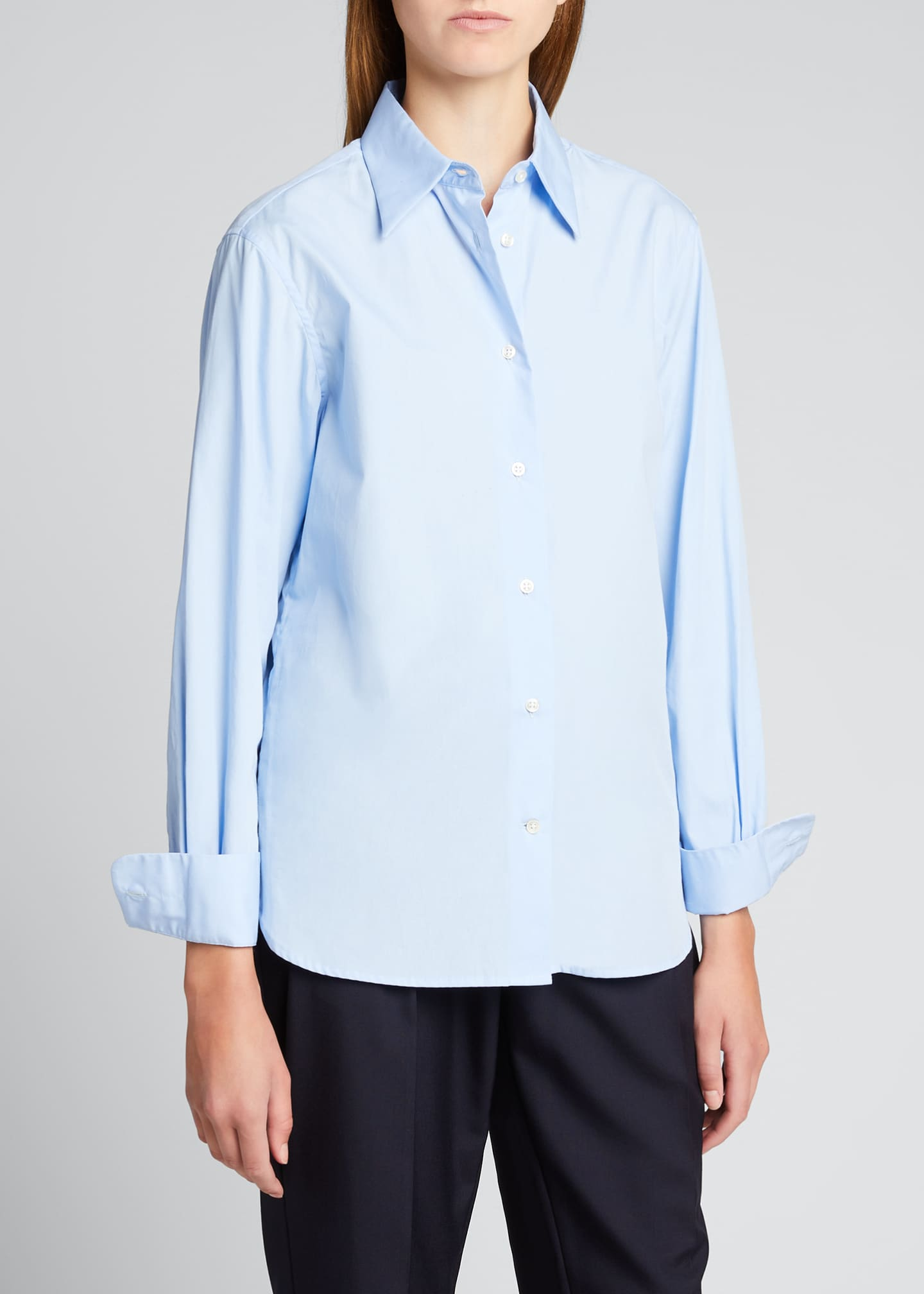 Image 3 of 5: Colombe Classic-Fit Poplin Shirt
