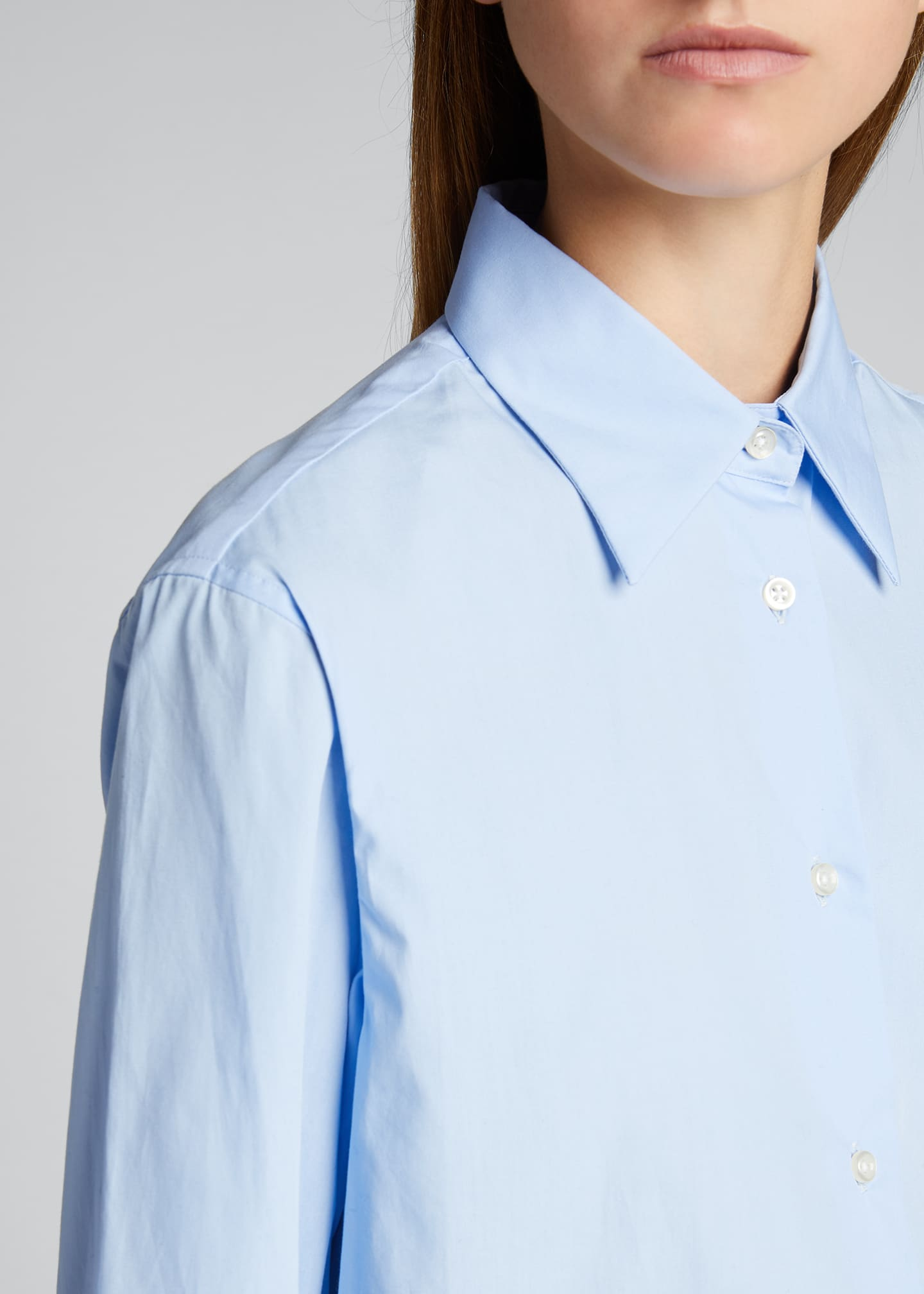 Image 4 of 5: Colombe Classic-Fit Poplin Shirt