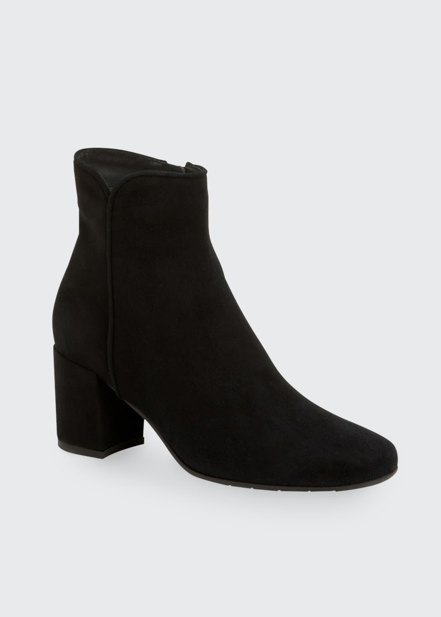 Image 2 of 4: Denisse Suede Ankle Booties