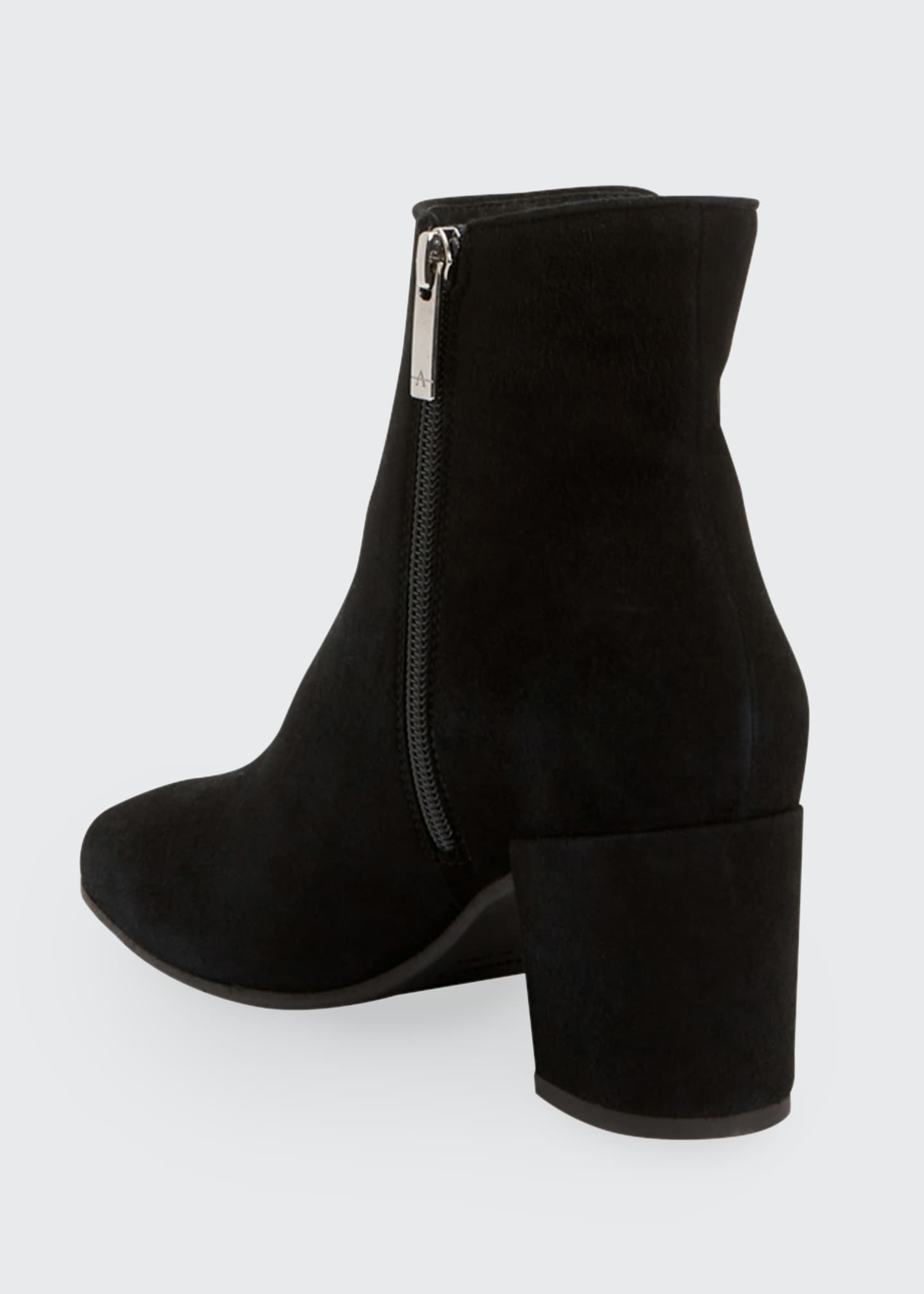 Image 3 of 4: Denisse Suede Ankle Booties