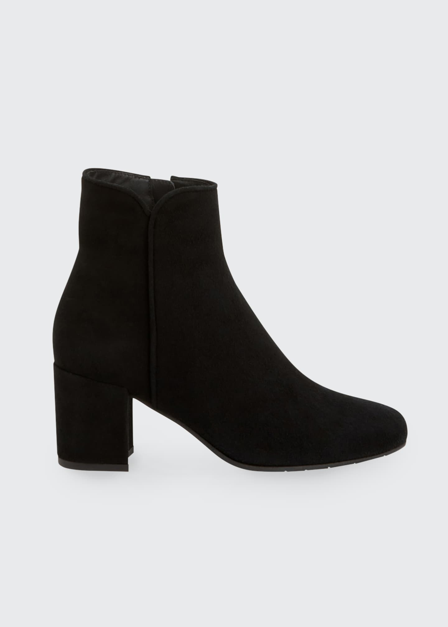 Image 1 of 4: Denisse Suede Ankle Booties