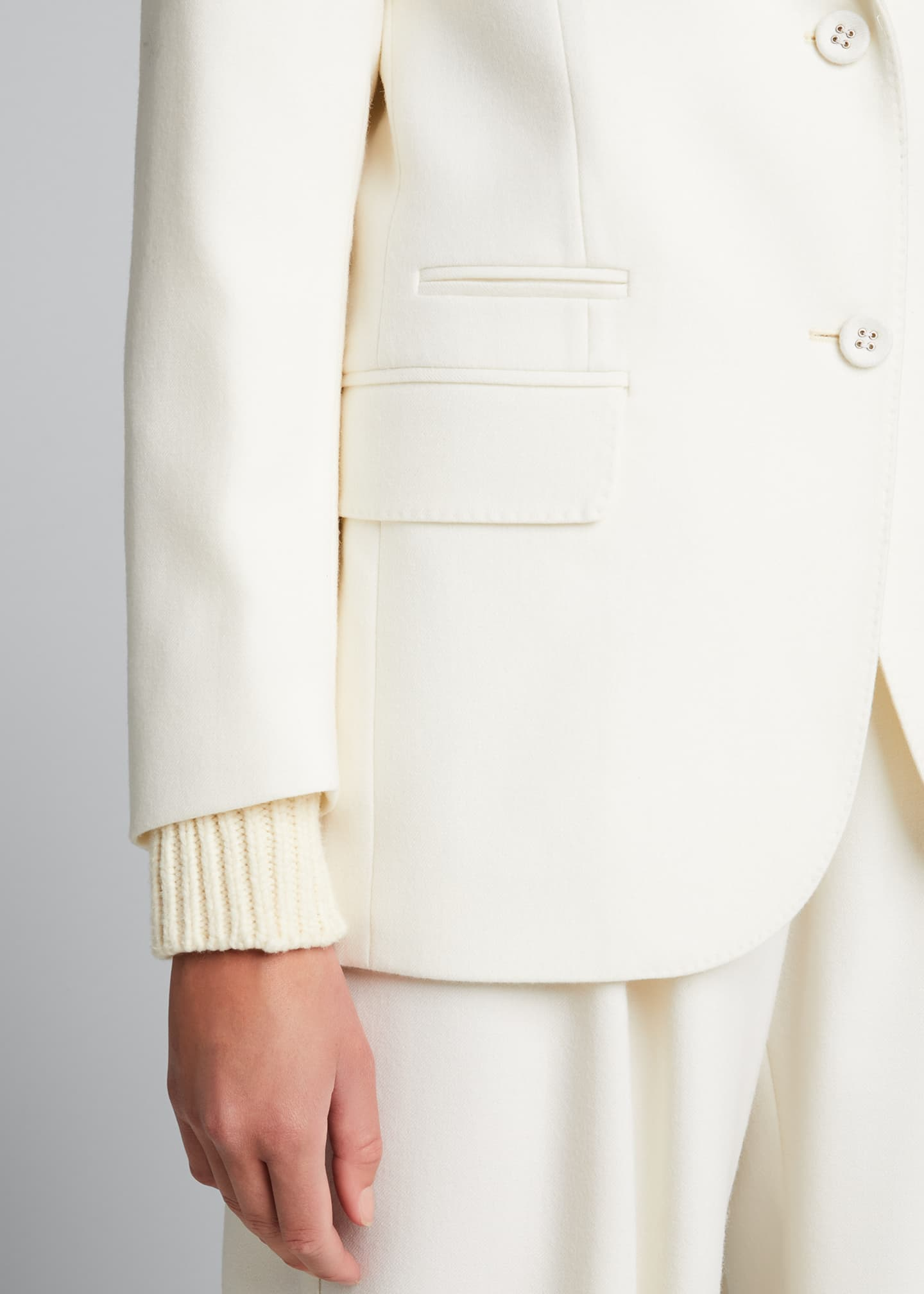 Image 4 of 5: Charlene Wool Jacket