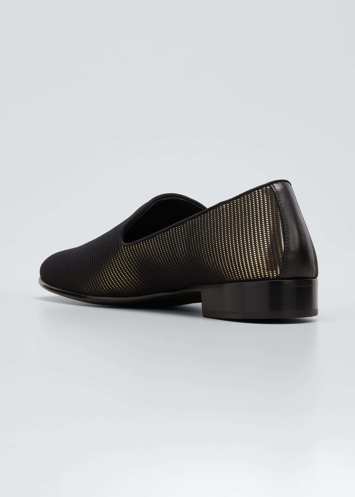 Image 2 of 3: Men's Ranguteu Stripe Metallic Slip-Ons