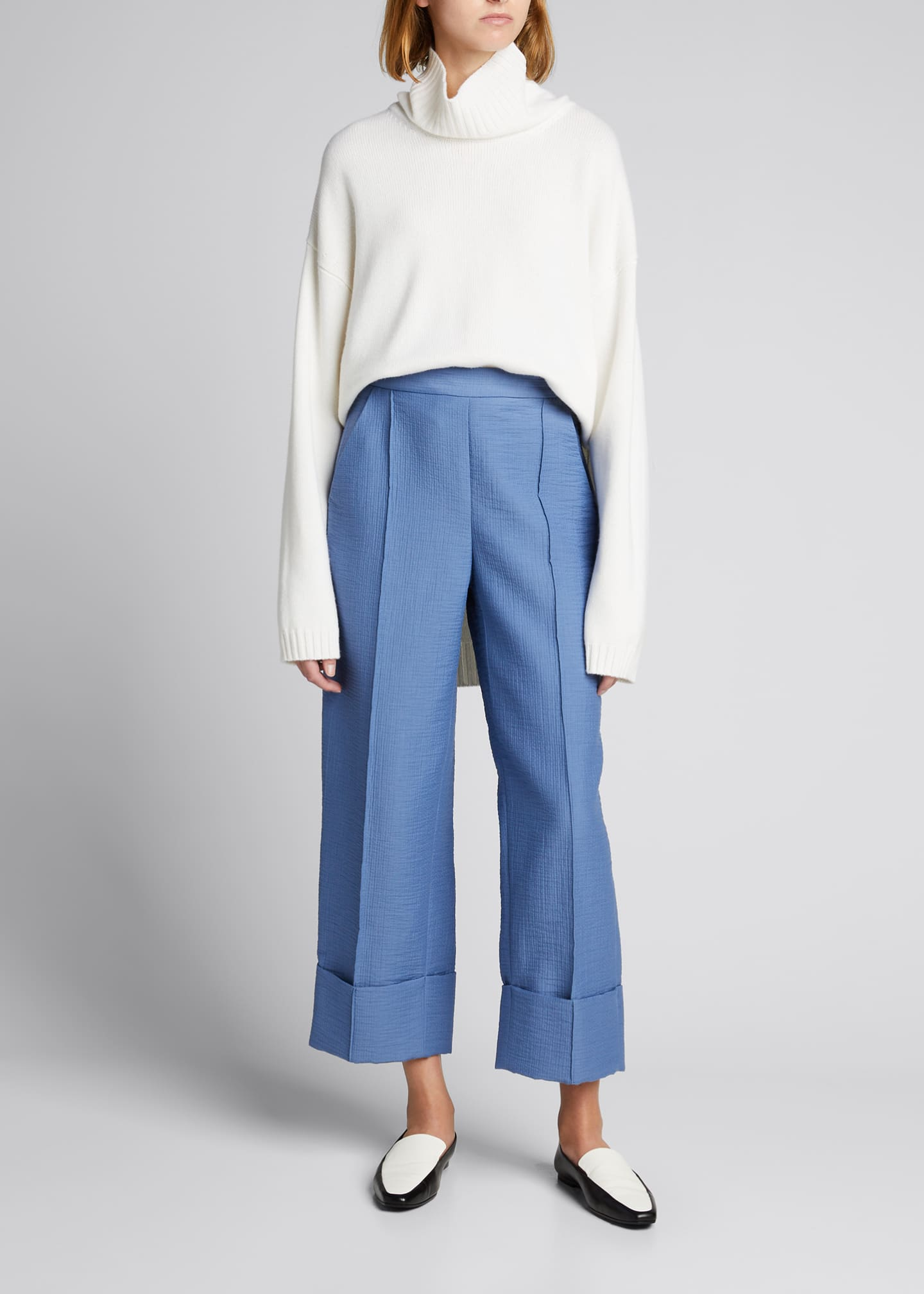 Image 1 of 5: Rotation High-Rise Cuffed Pants