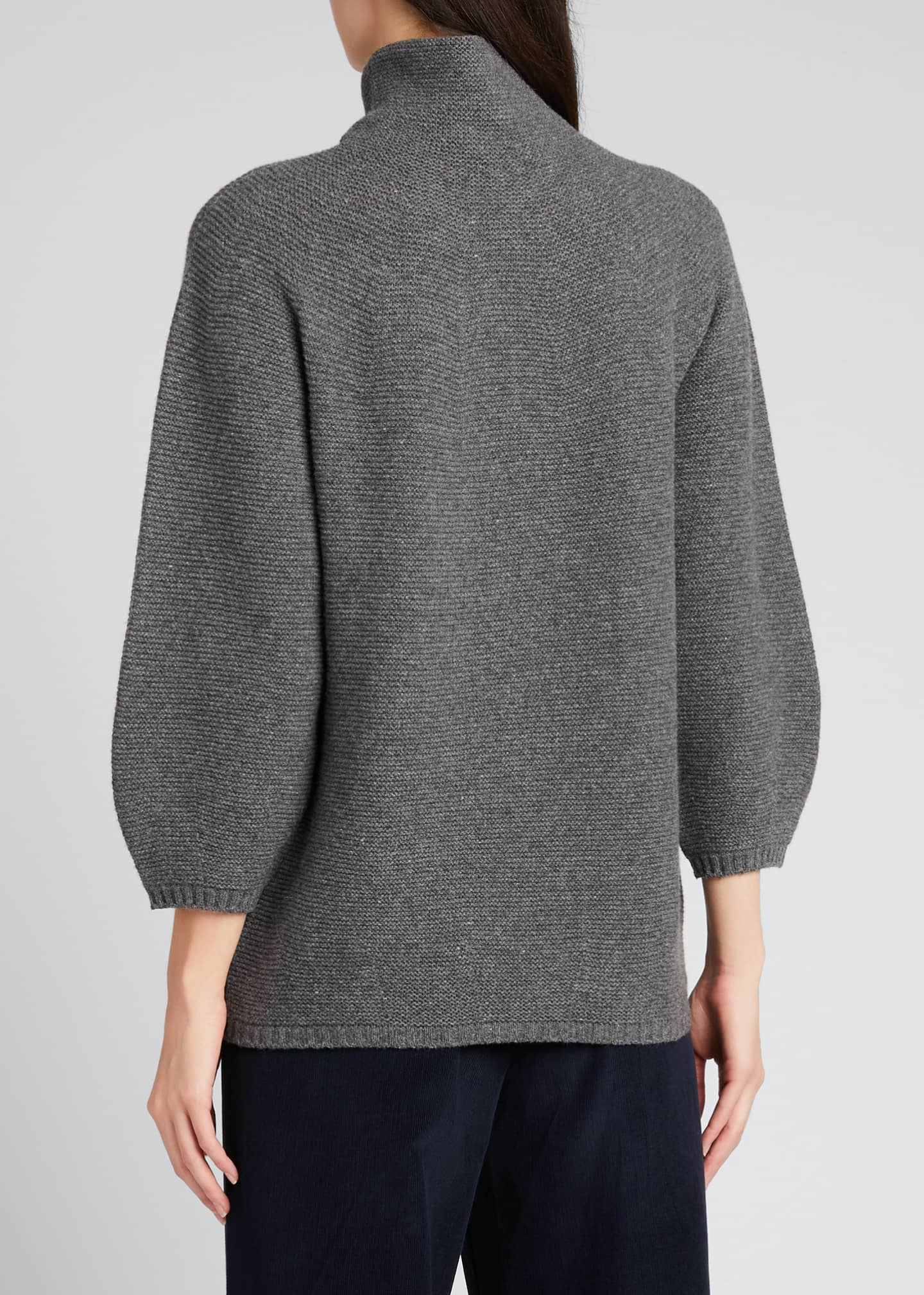 Image 2 of 5: Etrusco Wool-Cashmere High-Neck Sweater