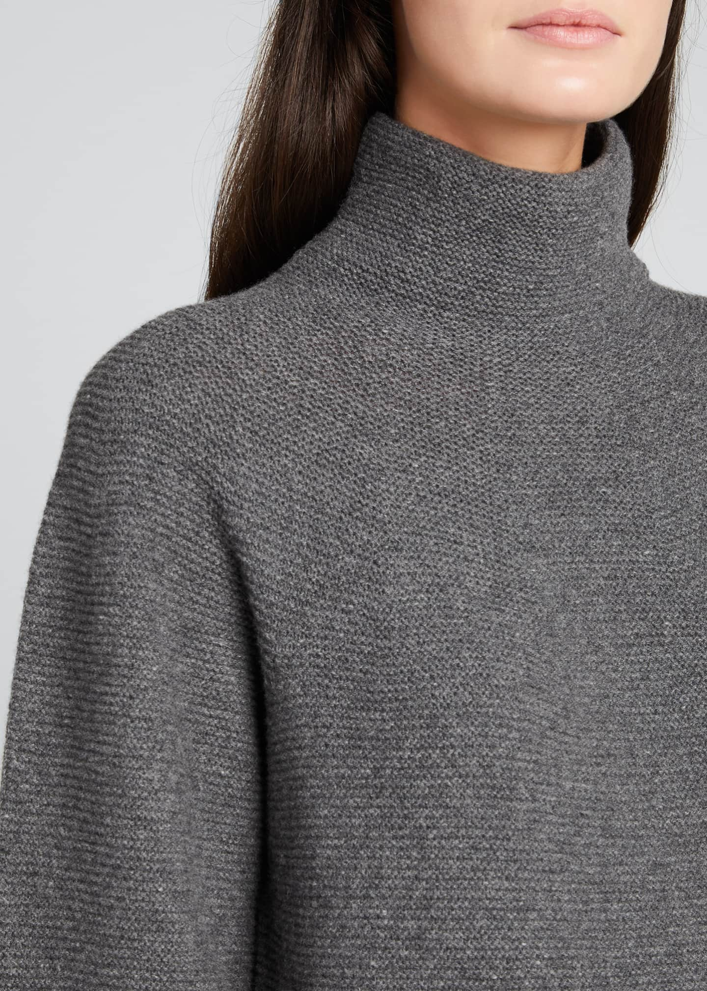 Image 4 of 5: Etrusco Wool-Cashmere High-Neck Sweater