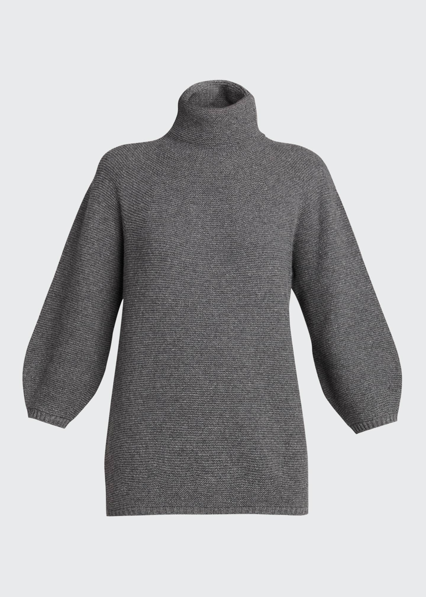 Image 5 of 5: Etrusco Wool-Cashmere High-Neck Sweater