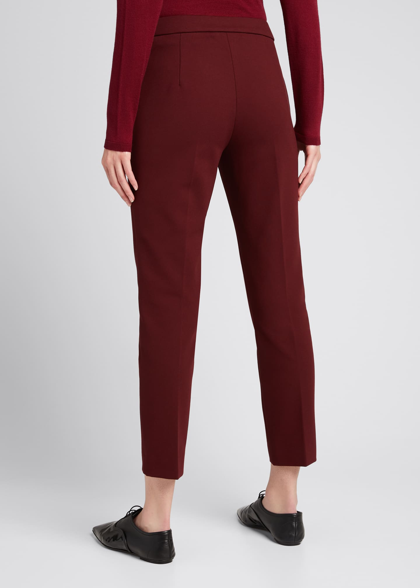 Image 2 of 4: Pegno Jersey Ankle Pants