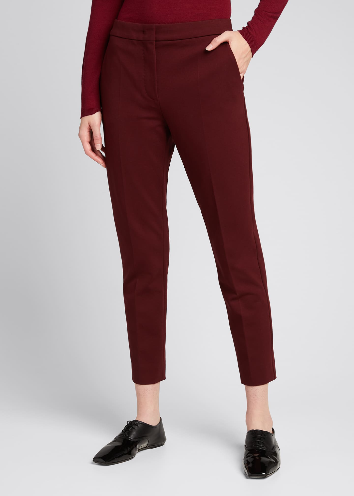 Image 3 of 4: Pegno Jersey Ankle Pants