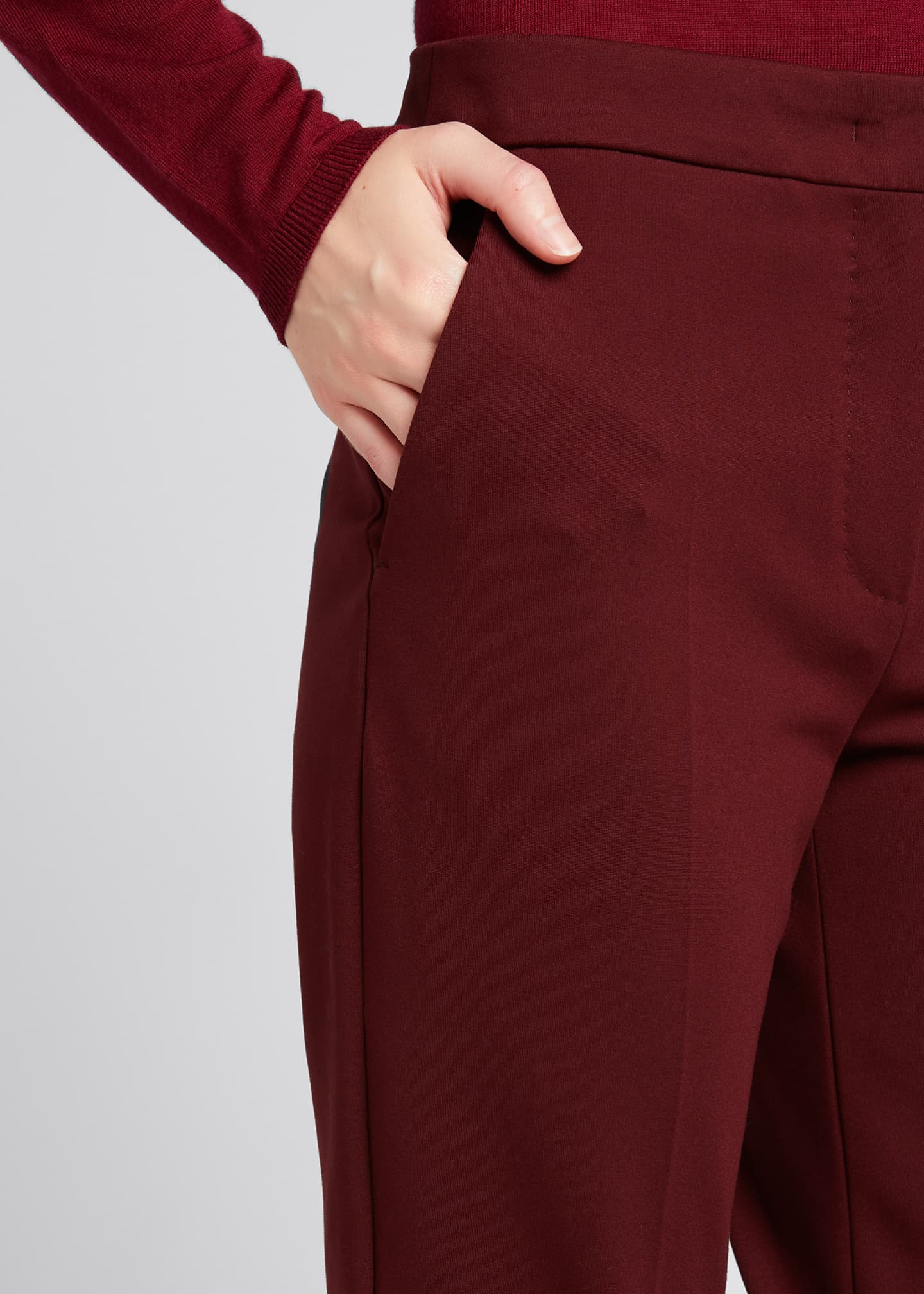 Image 4 of 4: Pegno Jersey Ankle Pants