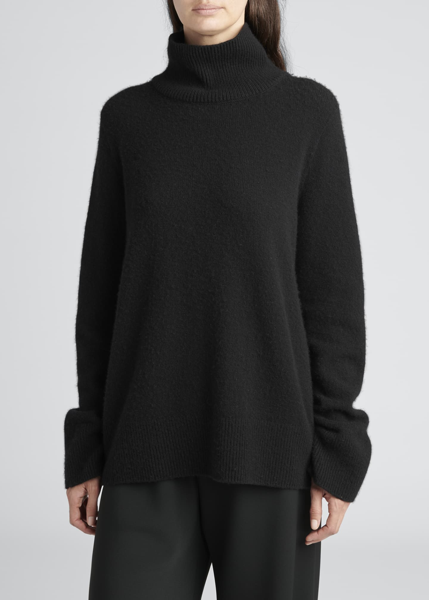 Image 3 of 3: Milina Oversized Turtleneck Sweater