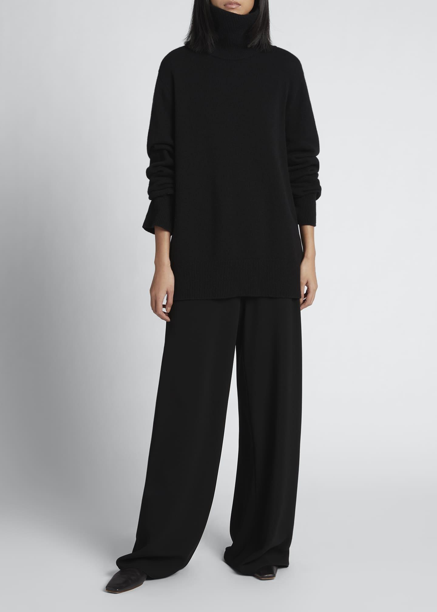 Image 1 of 3: Milina Oversized Turtleneck Sweater