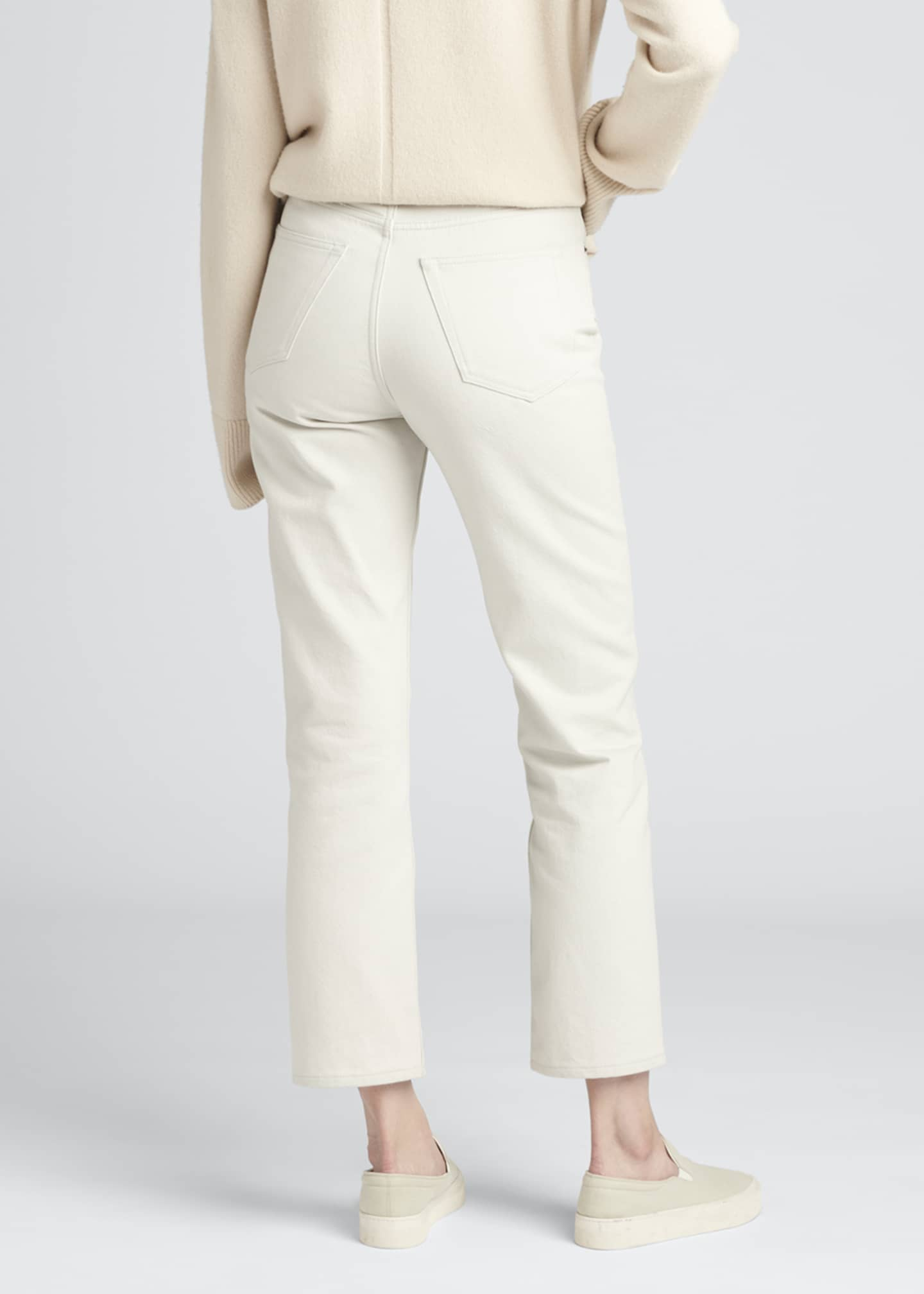 Image 2 of 3: Christie Cotton Denim Ankle Jeans