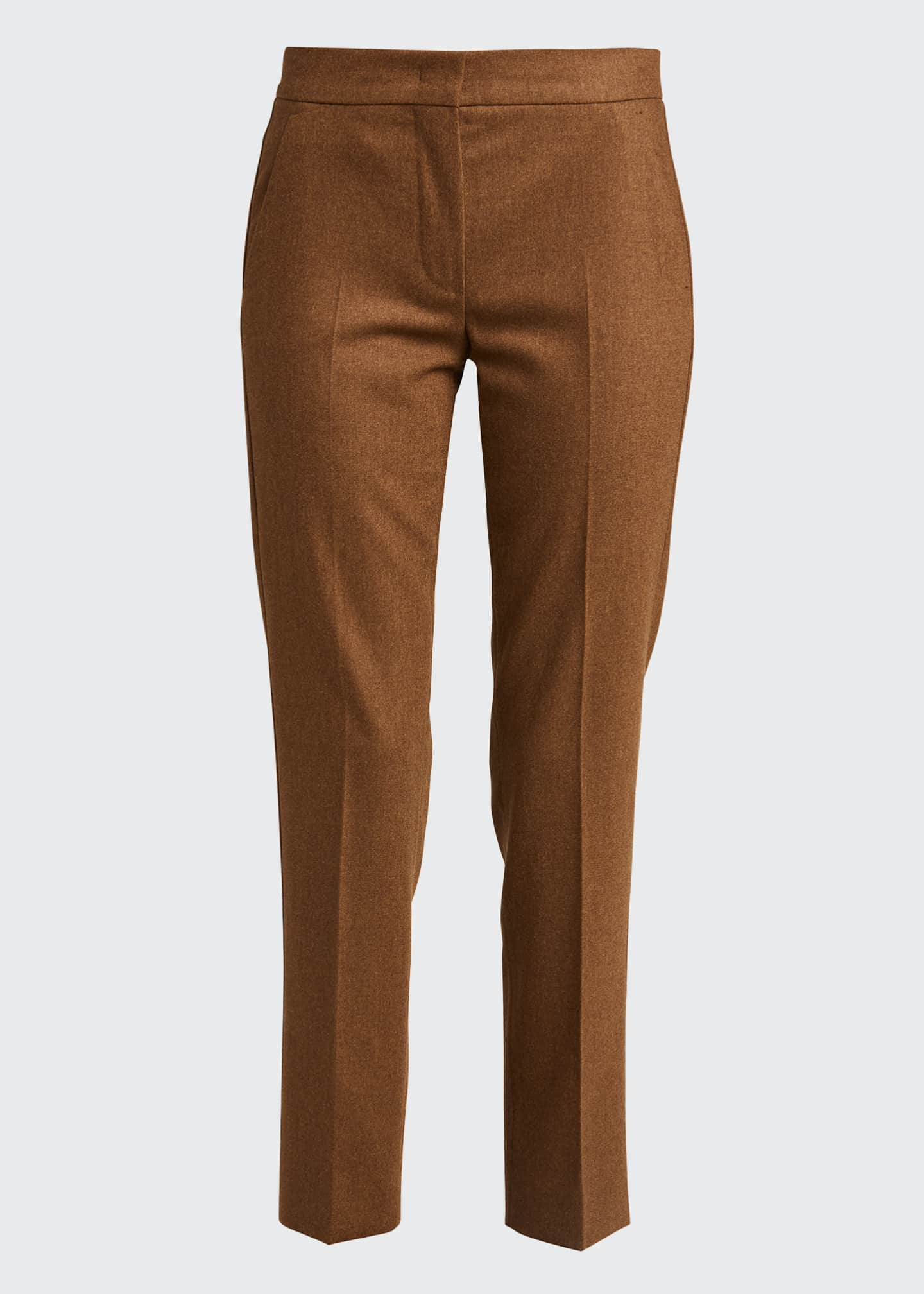 Image 5 of 5: Abano Wool-Blend Ankle Trousers