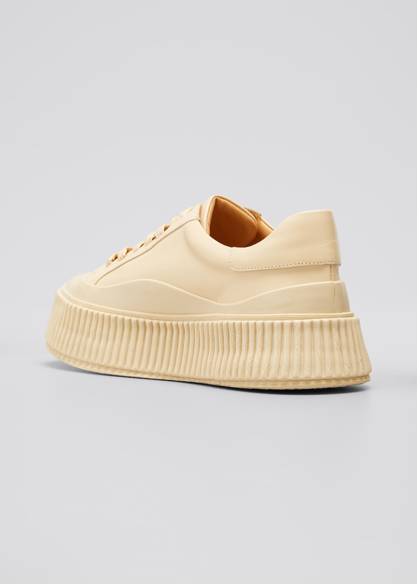 Image 2 of 3: Rubber Low-Top Sneakers