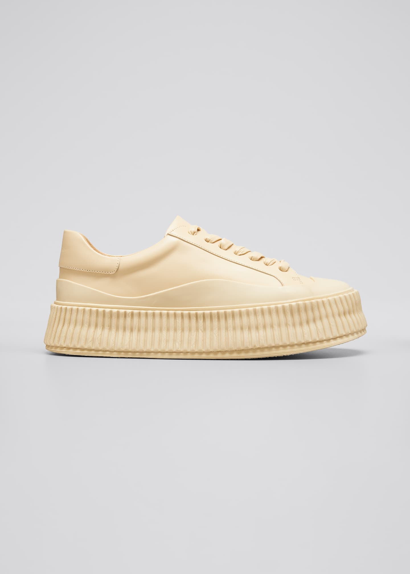 Image 1 of 3: Rubber Low-Top Sneakers