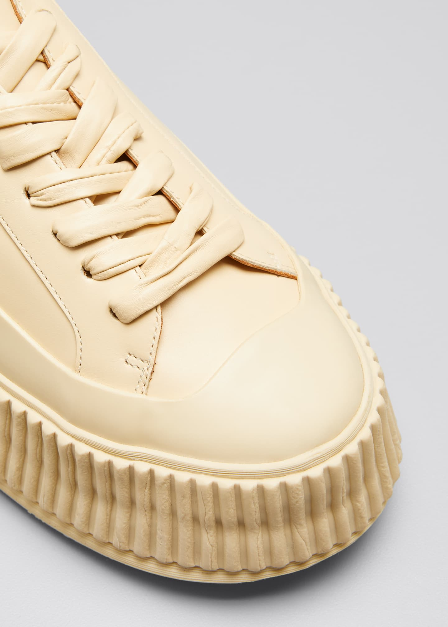 Image 3 of 3: Rubber Low-Top Sneakers
