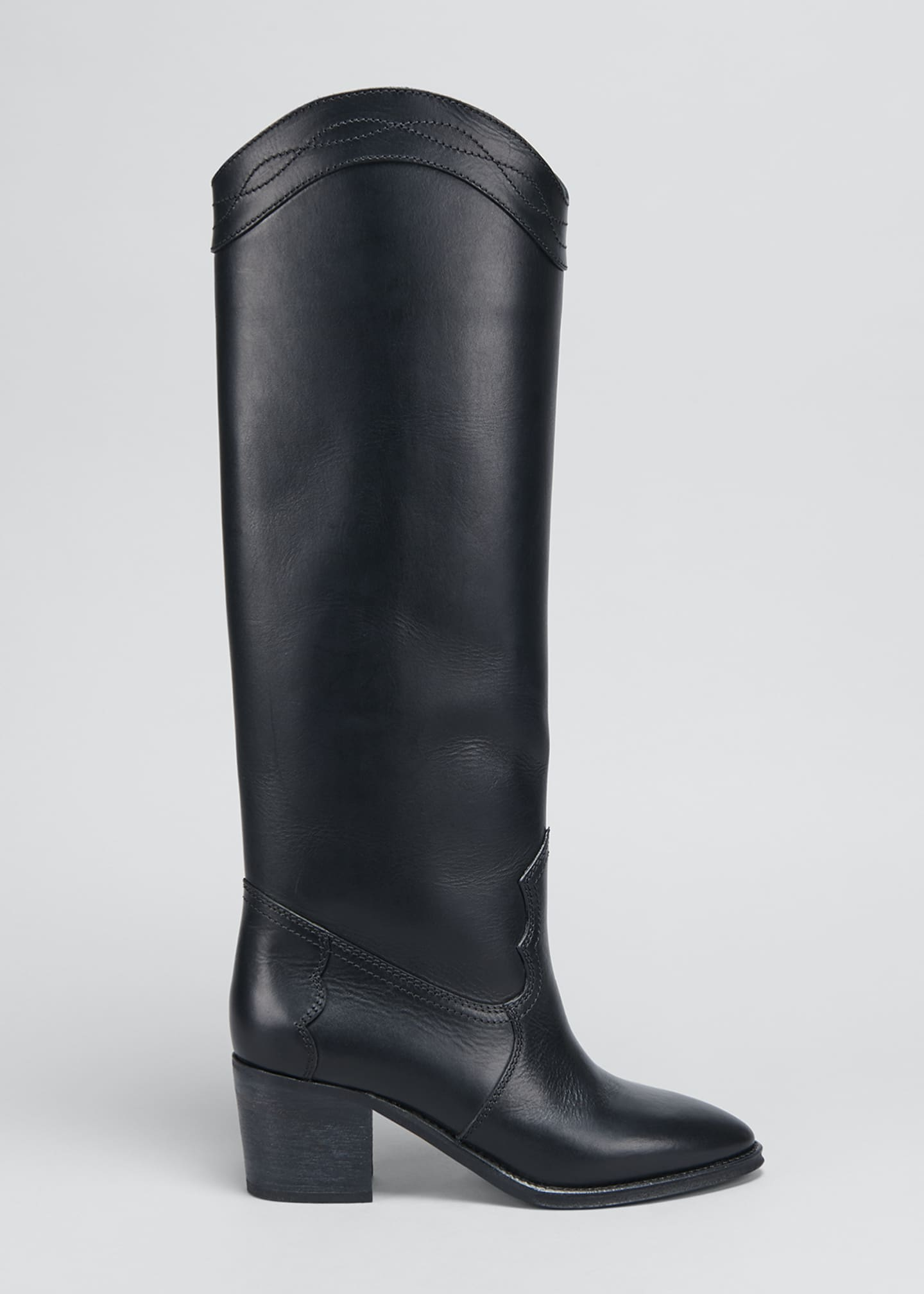 Image 1 of 5: Kate Tall Western Boots