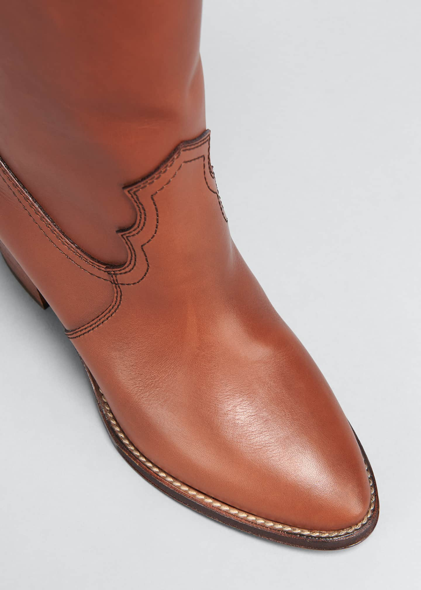 Image 5 of 5: Kate Tall Western Boots