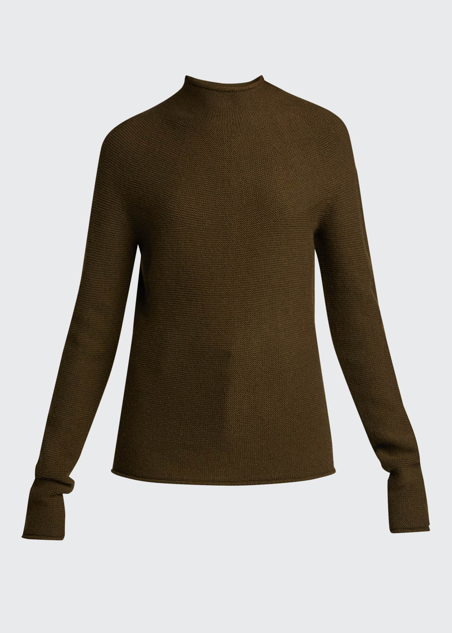 Image 5 of 5: Seamless Cashmere Sweater