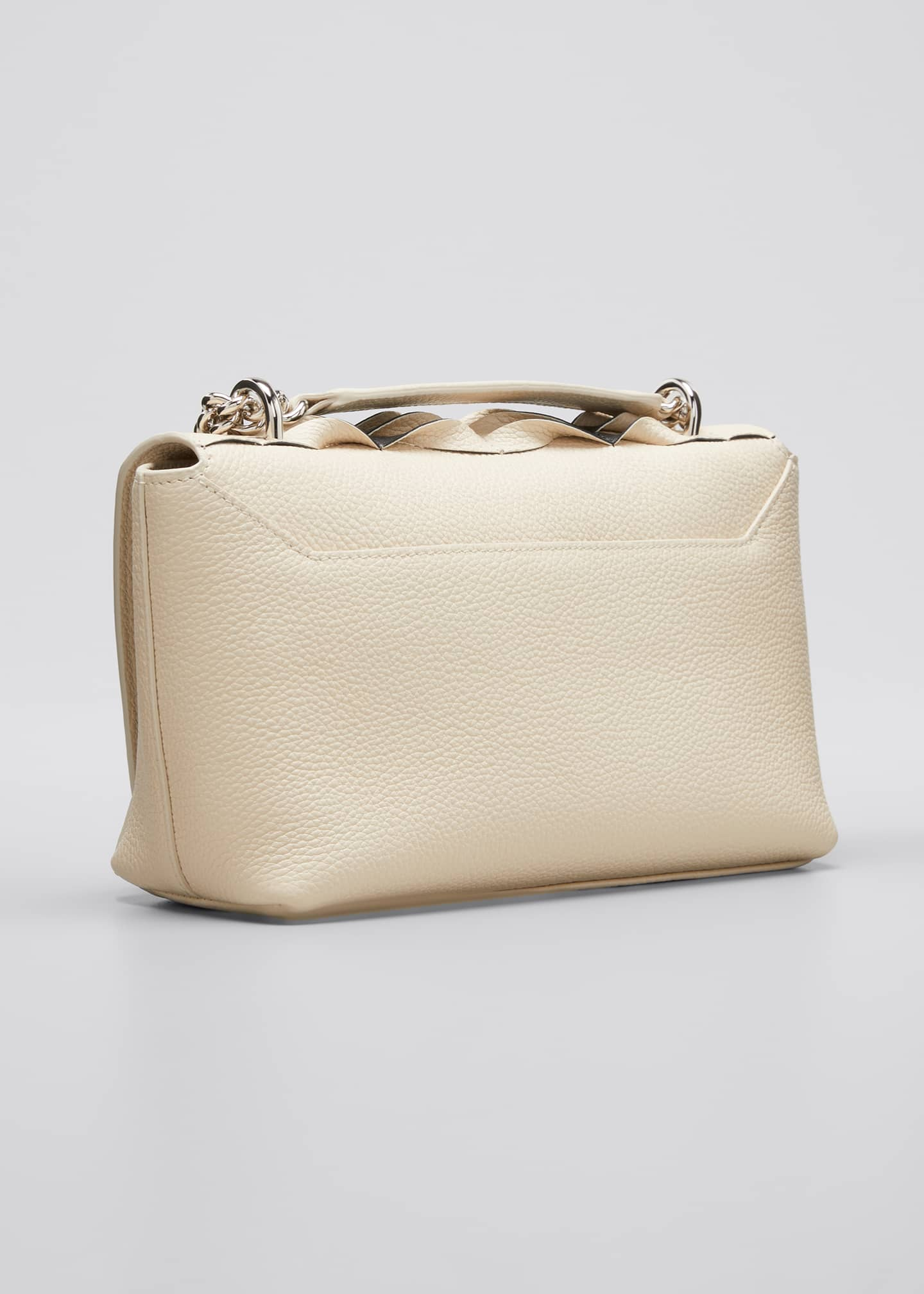 Image 3 of 5: Anouk Small Day Bicolor Pleats Crossbody Bag