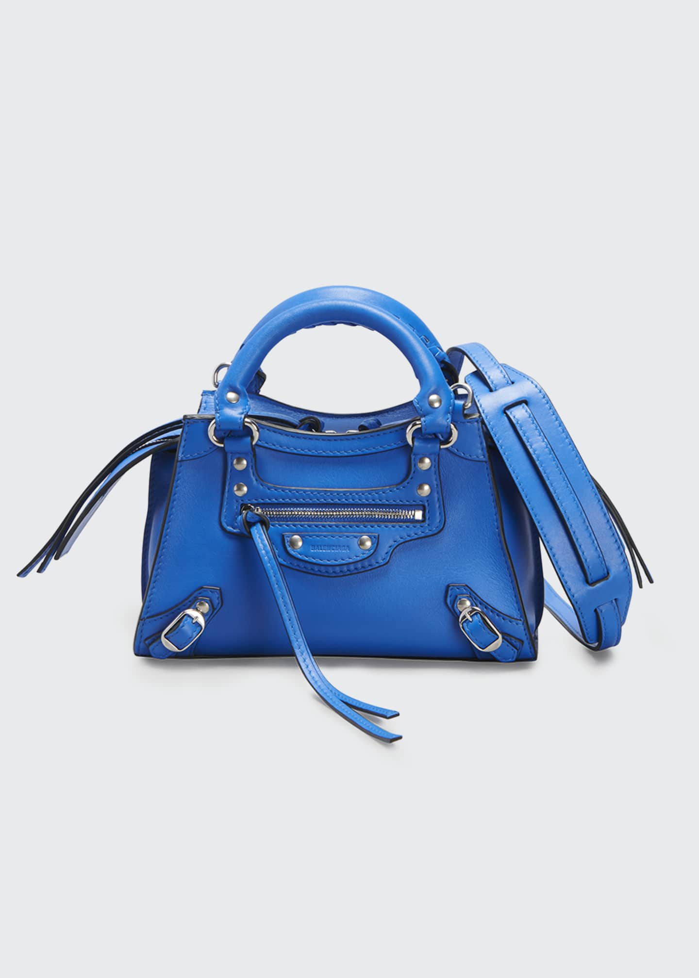 Image 1 of 3: Neo Classic City Mini Smooth Calfskin Satchel Bag
