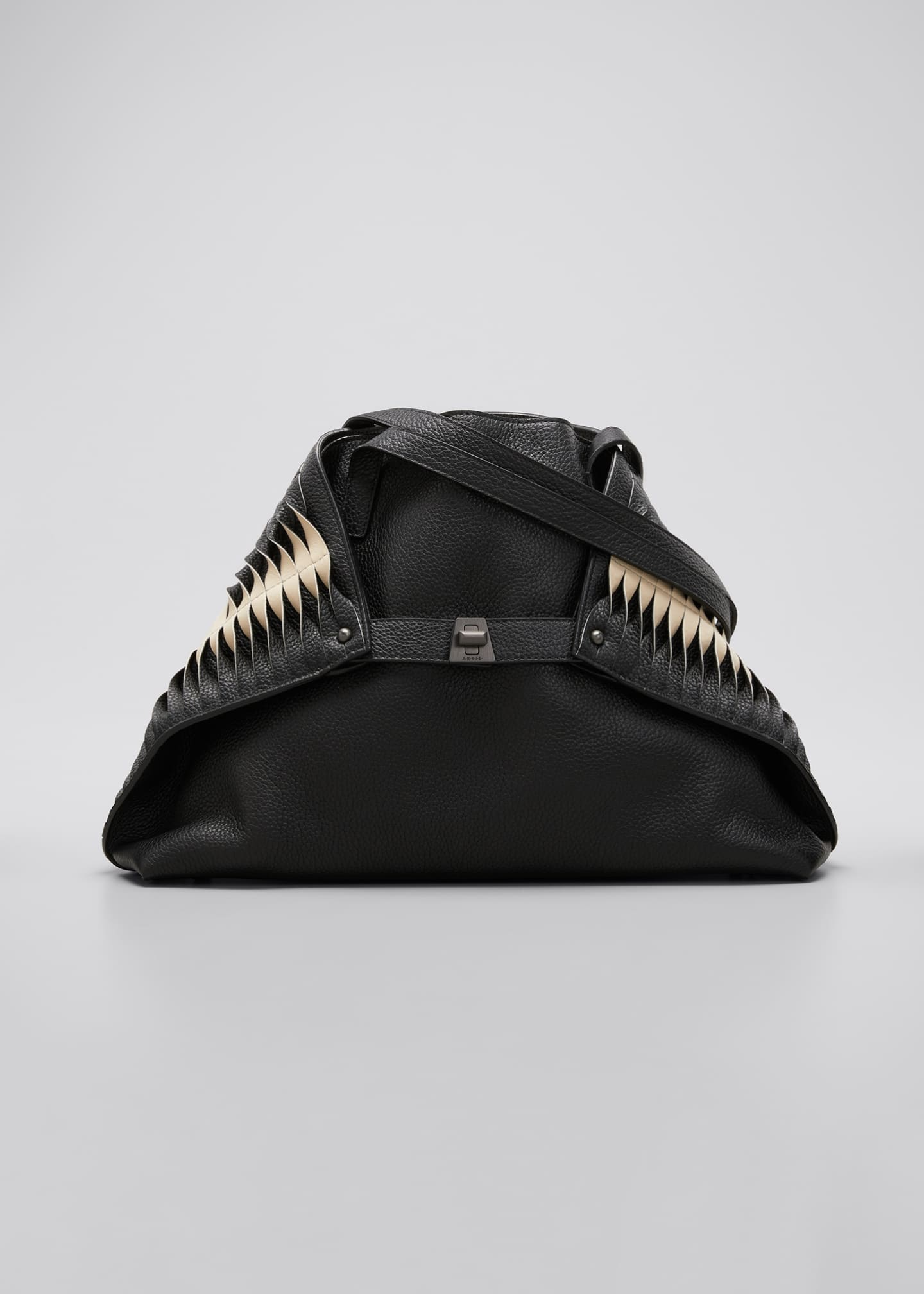 Image 1 of 5: Ai Small Pleats Shoulder Tote Bag