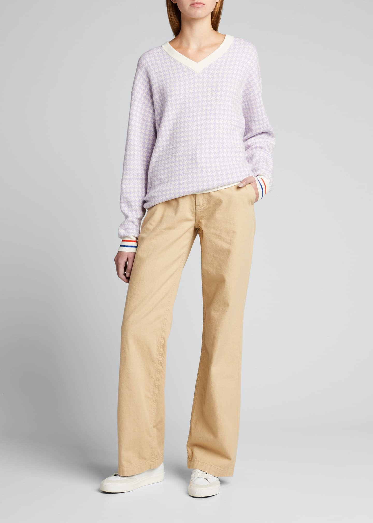 Image 1 of 5: The Tracy Houndstooth Sweater