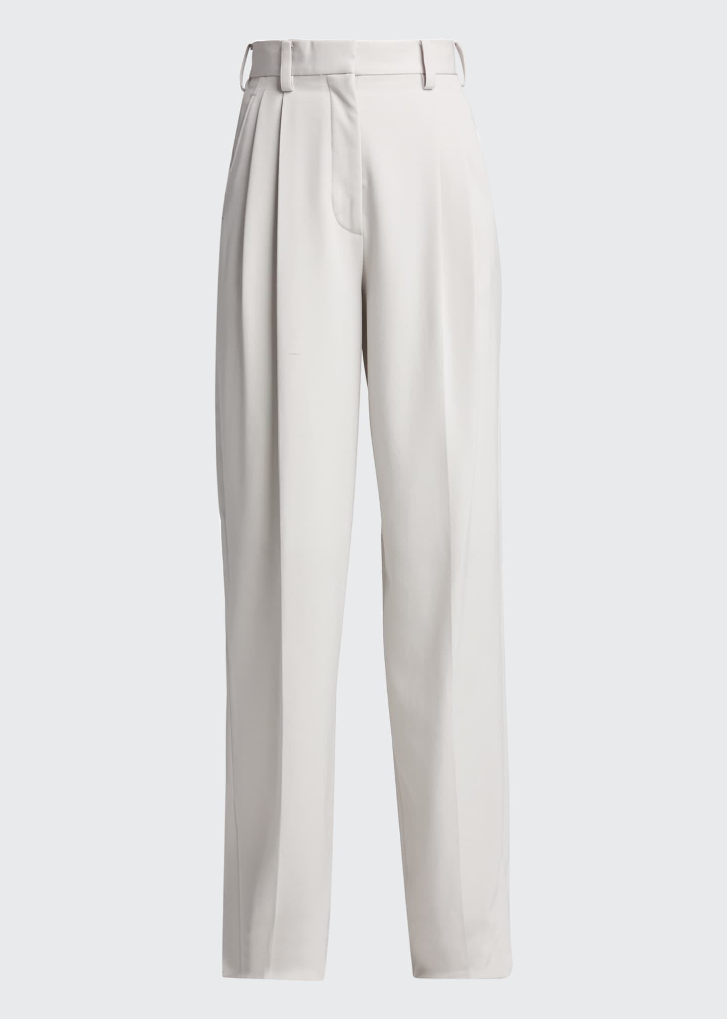 Image 5 of 5: Louise Loose-Fit Wool Trousers
