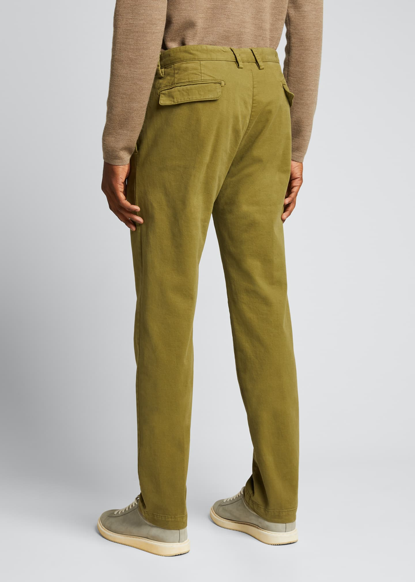 Image 2 of 5: Men's IONIO2 Cotton-Cashmere Trousers