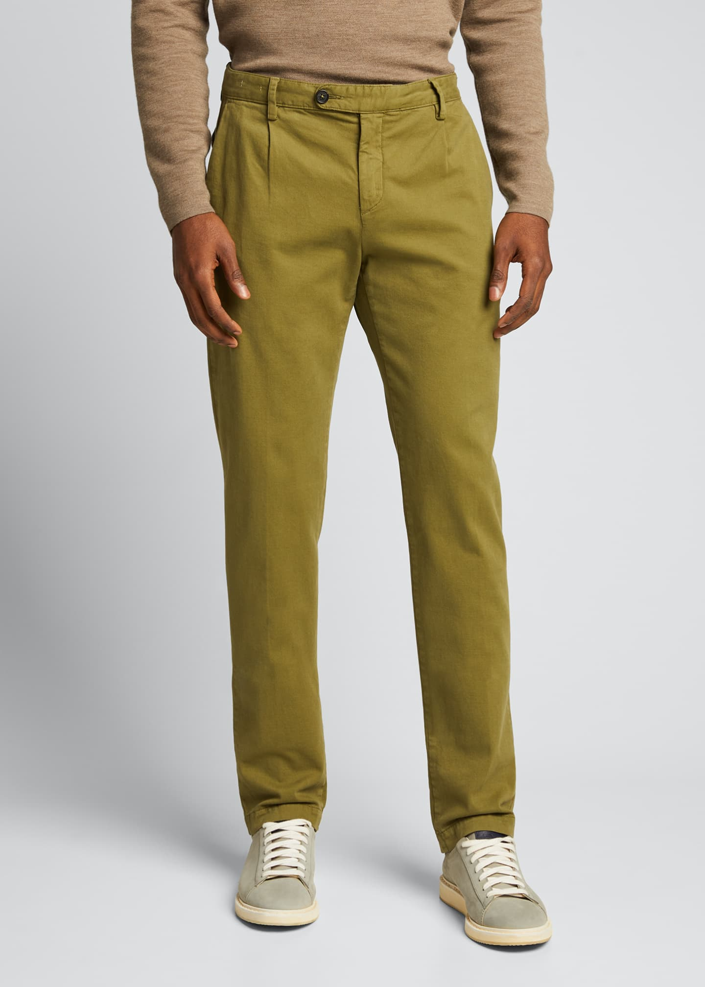 Image 3 of 5: Men's IONIO2 Cotton-Cashmere Trousers
