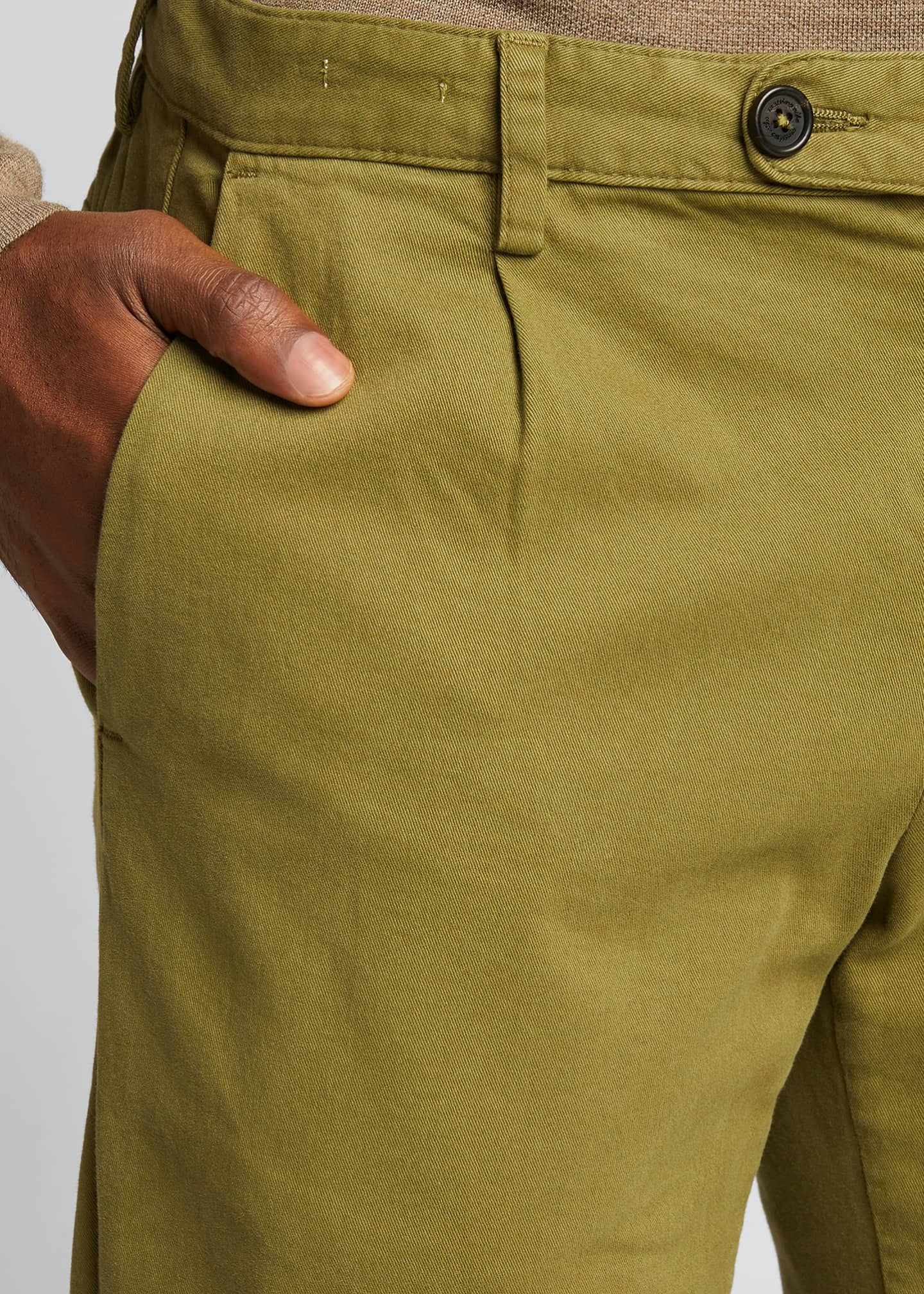 Image 4 of 5: Men's IONIO2 Cotton-Cashmere Trousers