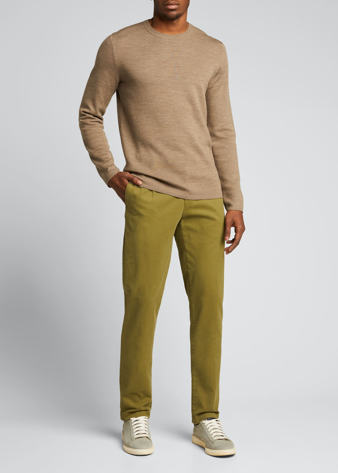 Image 1 of 5: Men's IONIO2 Cotton-Cashmere Trousers